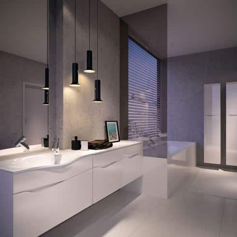 Moderná skrinka pod umývadlo