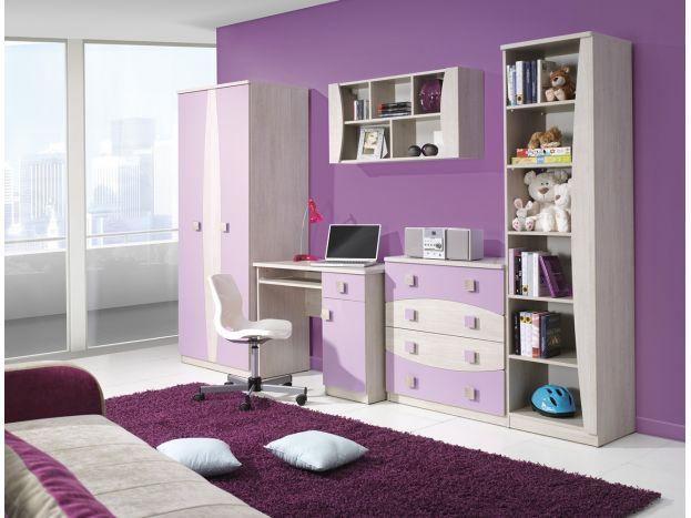 Lacná dievčenská detská izba