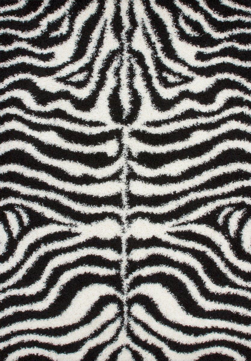 Dizajnový koberec - zebra