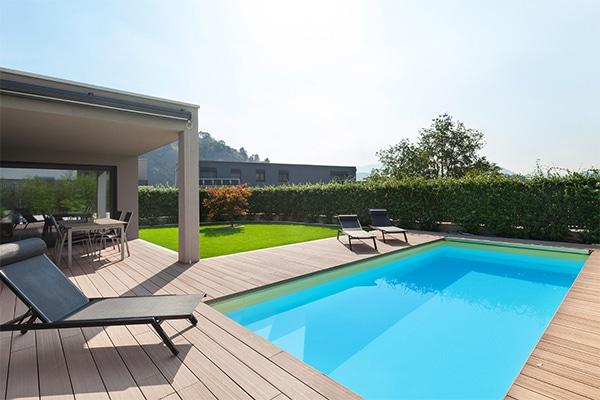 Bazén v dome