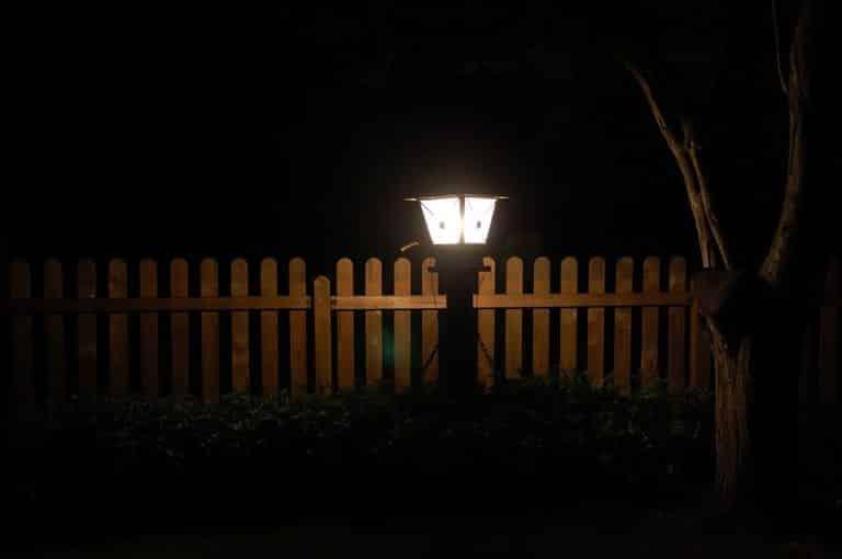 Vonkajšie osvetlenie - lampa
