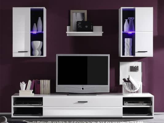 d59ecfc6b4795 Obývacia stena, ktorá skrášli vašu obývačku - Farebné bývanie
