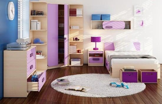 Detská izba pre dievča