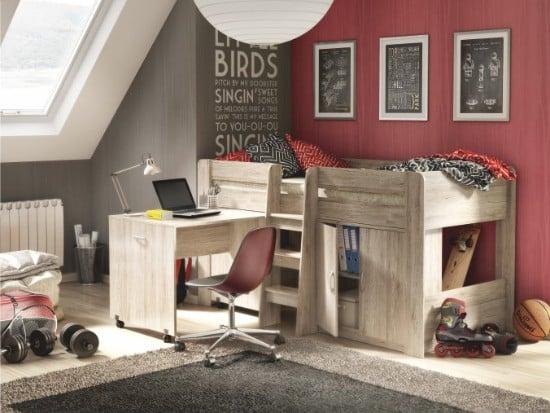 Kombinovaná posteľ pre deti