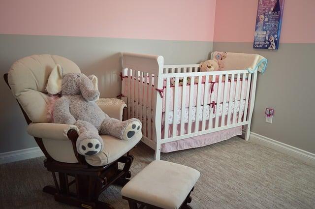 Postieľka v detskej izbe