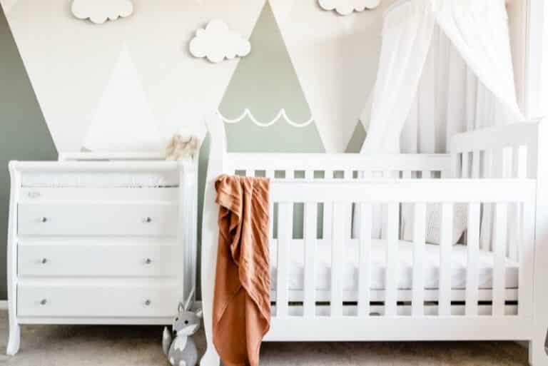 Detský kútik v spálni